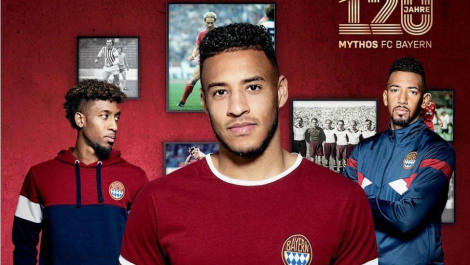 Bayern Munich lanza una colección de ropa vintage para celebrar su 120 aniversario