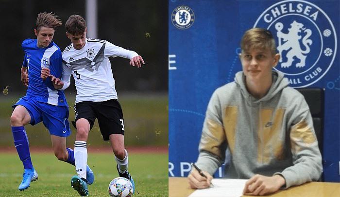 Chelsea ficha al jugador finlandés de 16 años Tauriainen